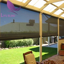 Liyu dark brown shades on sale electric solar shade