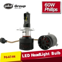 NEW 8th generation 36w High power C ree hi lo beam replacement bulb H4 led car headlight