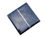 Customized Solar Panel 0.45W 3V 150mA 54*54*3MM Small Solar Panel for toys