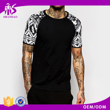 guangzhou shandao OEM manufacturer fantastic 180g 100% cotton short sleeve black O-Neck casual large quantity t shirt