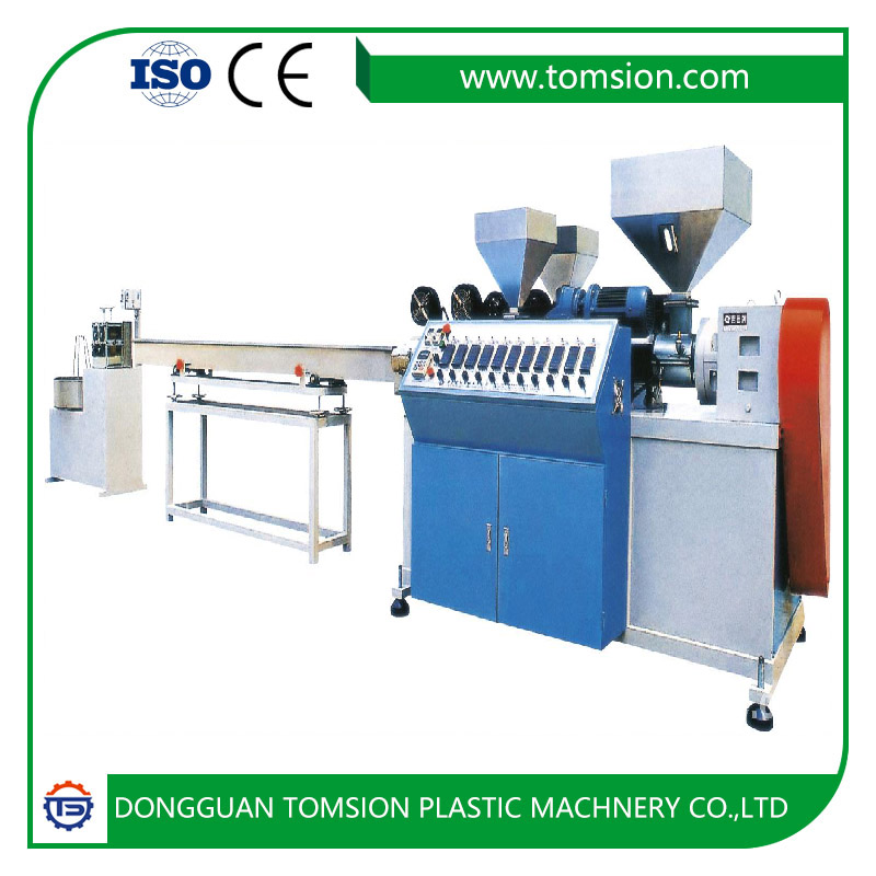 <strong>PE</strong>/PVC plastic extrusion production line for artificial rattan