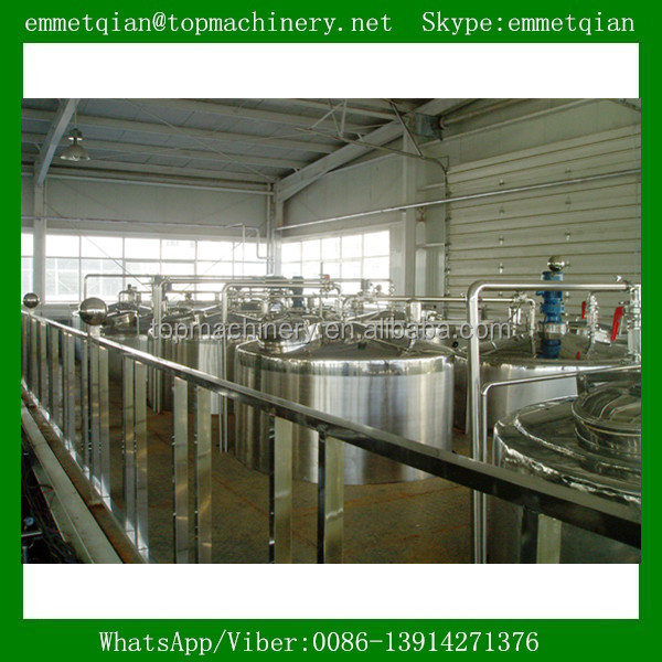 Processing line type mini dairy processing plant