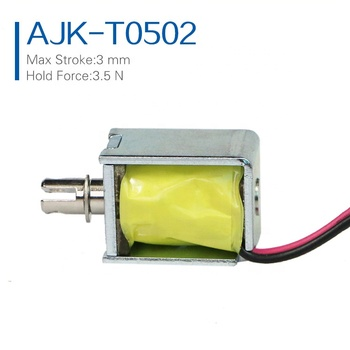 China Competitive Price Powerful 6v 12v Mini Solenoid Elecromagnets