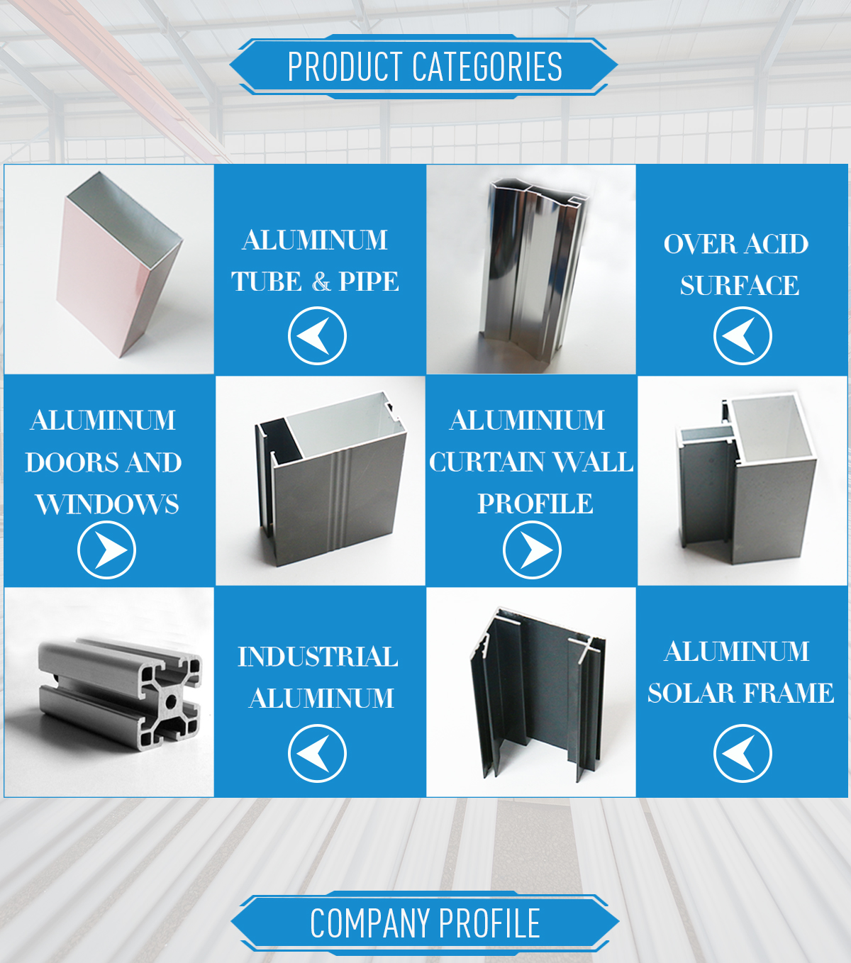 Weifang Guang Hua Aluminium Profile Co., Ltd. - Aluminium Profile ...