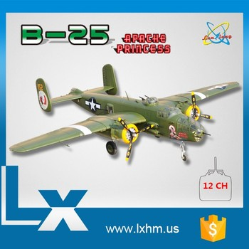 Largest size b-25 rc model airplane for sale
