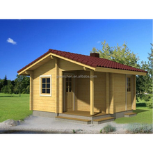 Well-designed prefabricated house one bedroom small prefab single floor timber cottage