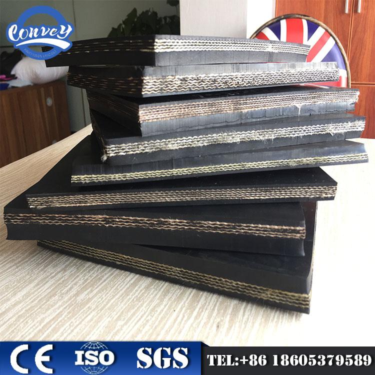 DHT-072 oil resistant conveyor belt rubber belt for african