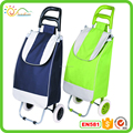 Wheeled market trolley bag/collapsible foldable wheeled trolley shopping cart
