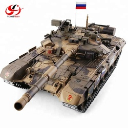 HENGLONG RC TANK 1:16 Russian T-90 2.4Ghz Main Battle Tank with Simulation Smoke BB Bullets
