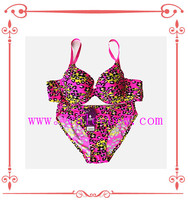 2015 new design sexy fancy stylish bra and panty set