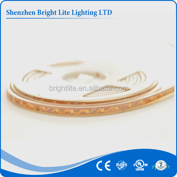 Red 3528 SMD waterproof ip68 60led UL certificate smd led strip