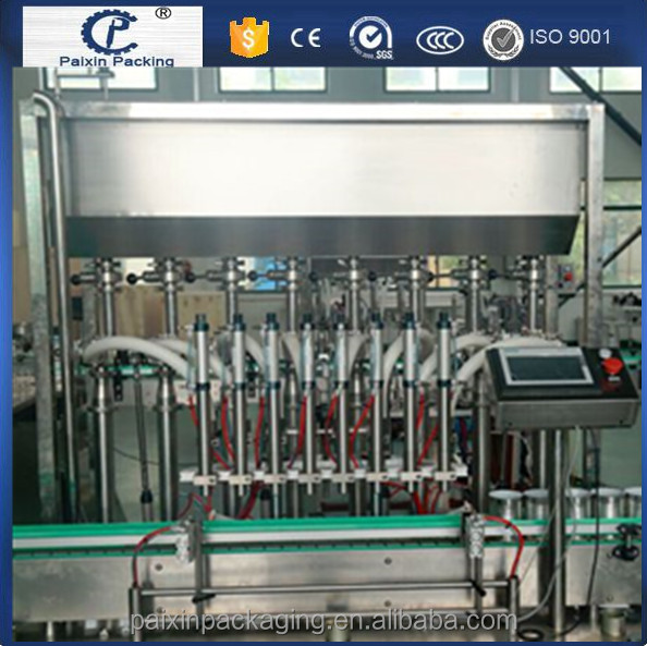 Top supplier ISO CE Standard oil filling plastic 1L olive oil filling capping machine promote product Factory price