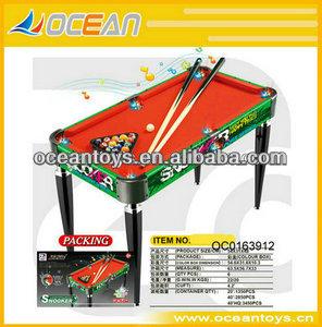 Nova dobrável mesa de bilhar snooker mesa para venda, com liga de alumínio pés oc0163905