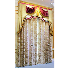 latest curtain design royal home embroidered curtain