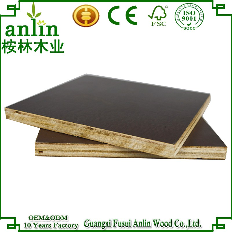Concrete Formwork 12mm Brown Film Faced Plywood Price Egypt