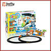 Newest plastic electric slot car racing track set