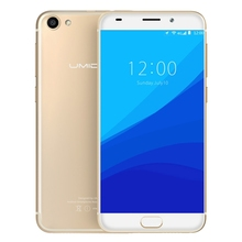 China Brand Free Shipping UMIDIGI G 2GB+16GB Android 7.0 MTK6737 Quad Core Phone