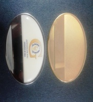 Oval Shaped Metal Badges in dubai / Oval metal Badges in Dubai / Oval Badges Duabi