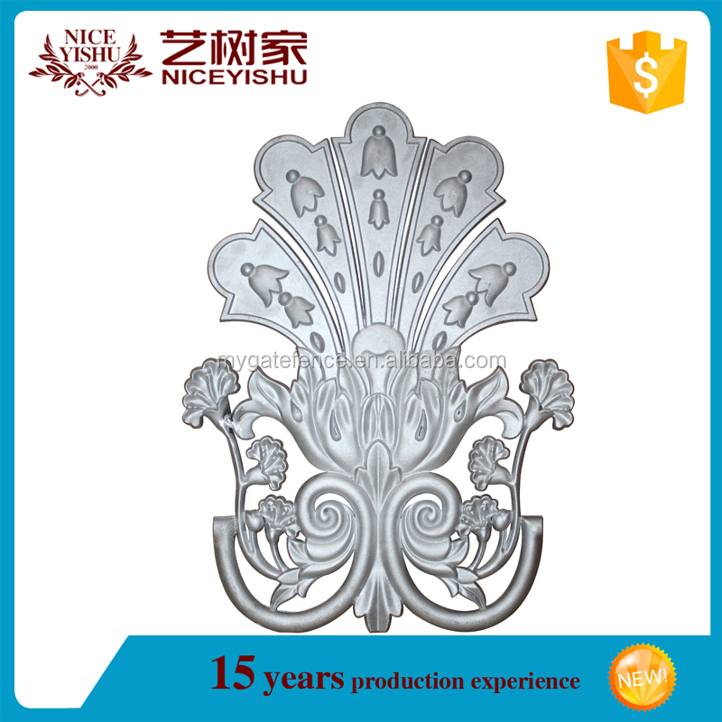 cast stainless steel,accessories aluminum,beautiful ornamental for gate and fence