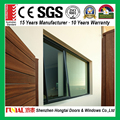 2017 new design Australia standard double toughened glass aluminum window