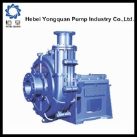 2015 centrifugal sand and gravel slurry portable mud pump price