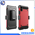 New 2017 High Impact Hard shell holster Phone Cover For Iphone X Hybrid Case