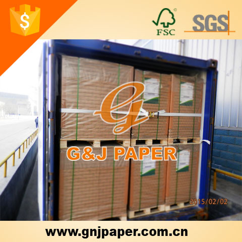 100% Virgin Wood Pulp White Uncoated Woodfree Offset Paper