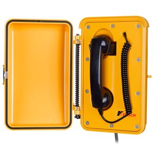 KNTECH Dust-proof and Waterproof Railway Roadside Auto-dail Emergency Telephone KNSP-03
