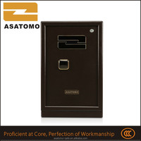 Alibaba gold supplier powder coating metal box gun safe for sale mail order fast delivery strong metal home safe