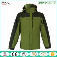 wholesale customized best waterproof 3 in 1 jacket for men