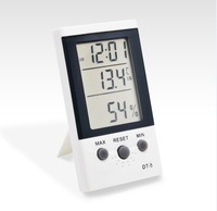 RINGDER DT-5 Digital LCD Display Room Temperature Thermometer with Sensor