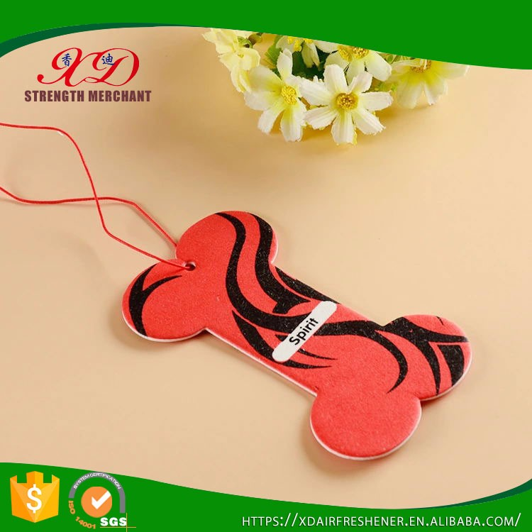 Car And Home Use Custom Scented Hanging Paper Air Freshener
