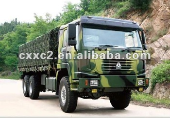 Special Use Military Truck Sinotruk HOWO 6x6