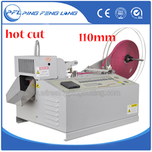 PFL-890 Automatic hot knife tape cutting machine,high quality hot cutting and sealing machine best performance