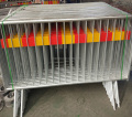 1100 Height 2500mm Long Temporary Pedestrian Barricade Event Control Barricade Crowd Stopper Barrier