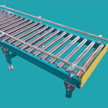 simple assembly line packing free roller conveyor