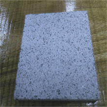 Chinese GraniteG365 low prices Sesame white granite stone framed non-slip stair stone