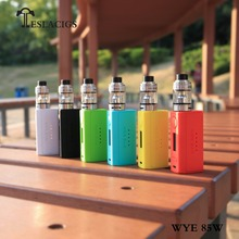 Best Selling Products Vape Teslacigs WYE 85W Box Mod With 2ml/5ml Tank