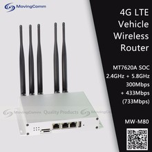 Dual Band Bus Wifi Router 300M 2.4GHz + 433M 5GHz for Taxi / Cab / Bus / Car Wireless with dedicated GPS module