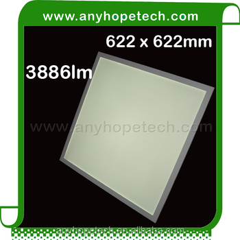 ETL CRI 90 warm white led panel light 625x625mm