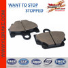 Brake pad for YAMAHA rx 135;front brake pad for YAMAHA rd350;brake pad for YAMAHA rx 115