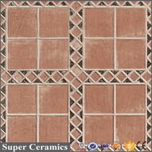 cheap price pretty figure glazed ceramic floor flower tiles design