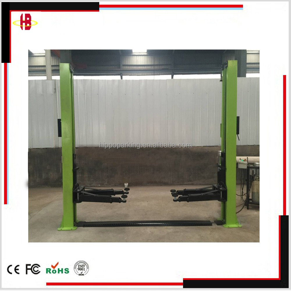 hydraulic auto baseplate car lift