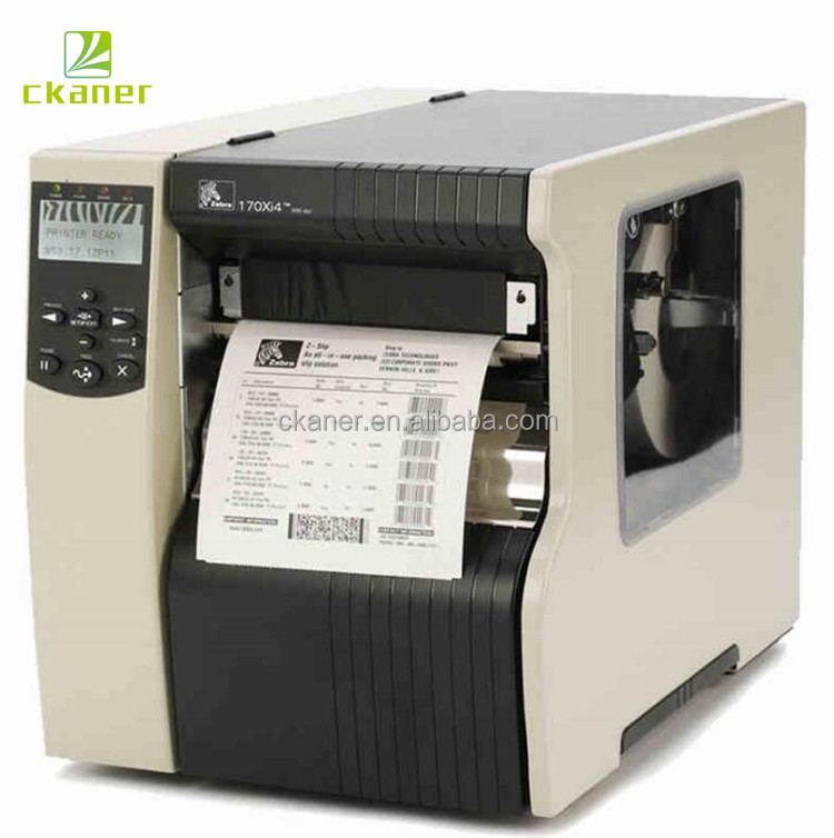 Ckaner Most Trusted Zebra 170Xi4 High Quality Ticket Label Printer