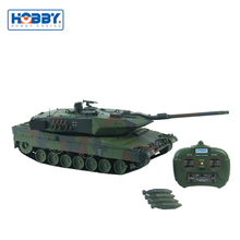 HobbyEngine 1:16 Leopard 2A6 German RC Tank 2.4GHz Military Tank For Children