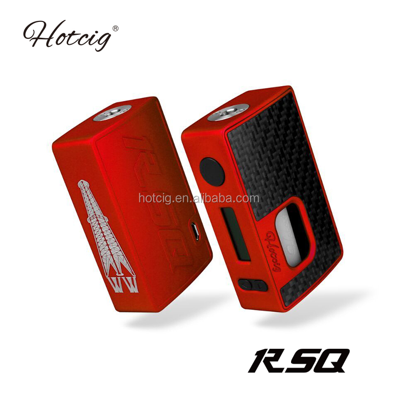 2017 China supplies new design Hotcig RSQ squonk mod pre-order