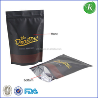 U color Customized stand up paper coffee bag