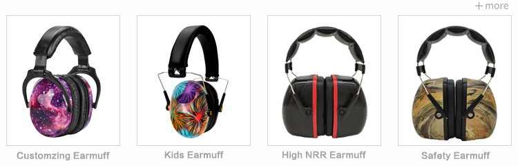 Manufacturer OEM Bluetooth Shooting Noise Proof Earmuff Clay Target Bluetooth Wireless Headphone