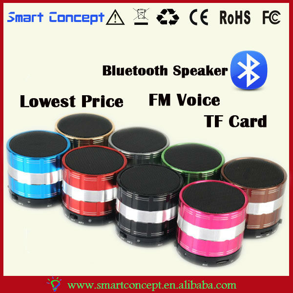 Mini Bluetooth FM / TF card / MP3 / Hands-free Function Bluetooth Motorcycle Speaker