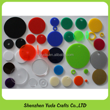 Various Sizes and Colors Acrylic Discs Sheets Lasercutting Acrylic Circle Round Disc